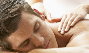 Chiropractic Clive IA Champion Family Chiropractic Massage Therapy Man